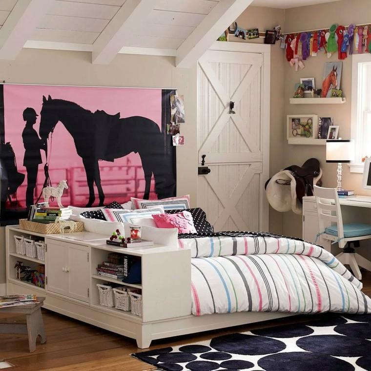 dormitorios juveniles almacenamiento