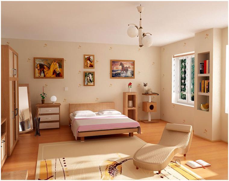 dormitorios juveniles claros