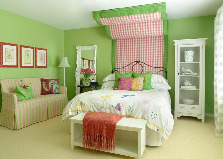 dormitorios juveniles con dosel