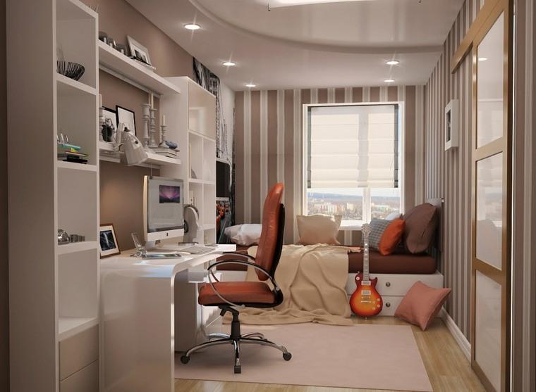 dormitorios juveniles espacios