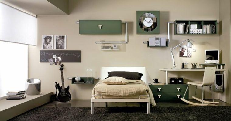 dormitorios juveniles musica