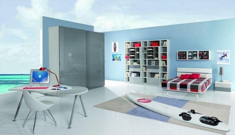 dormitorios juveniles sutiles