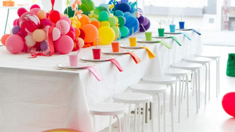 fiesta de cumpleaños arcoiris