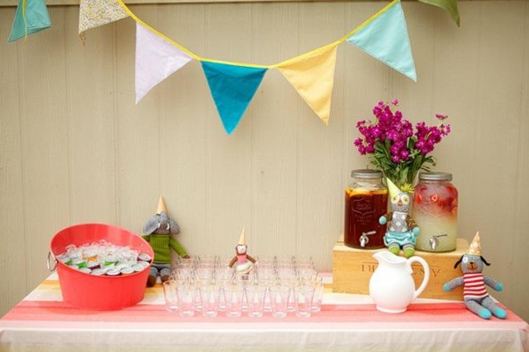 fiesta de cumpleaños bebidas