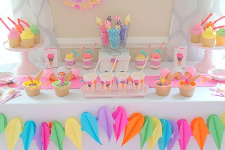 fiesta de cumpleaños colores pasteles