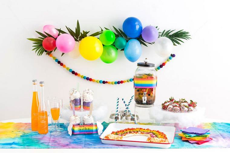 fiesta de cumpleaños decoracion facil