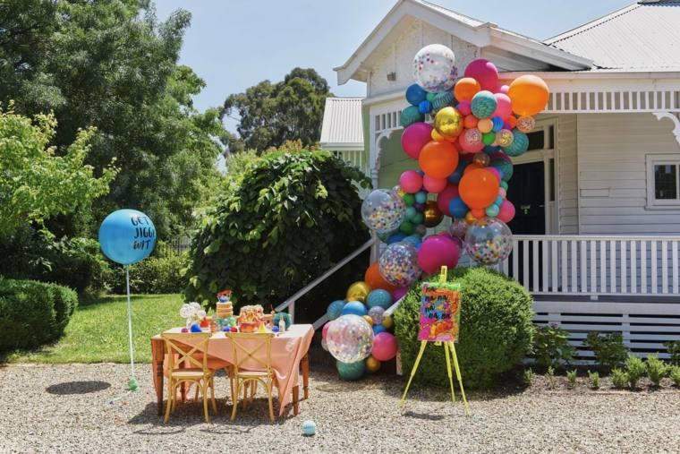 fiesta de cumpleaños decoracion globos