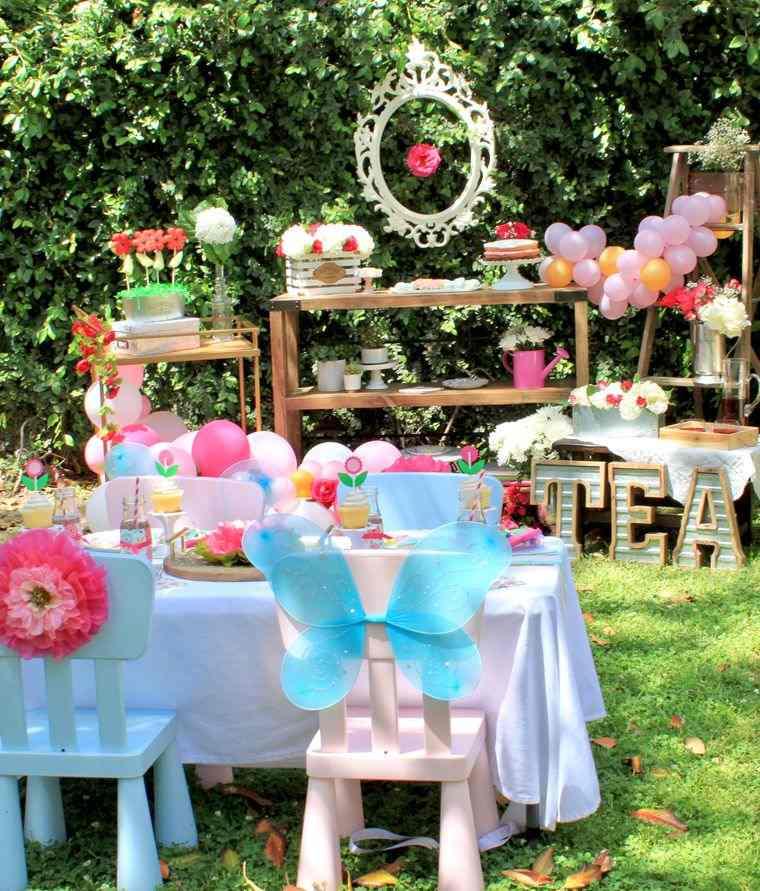 fiesta de cumpleaños decoracion mariposas
