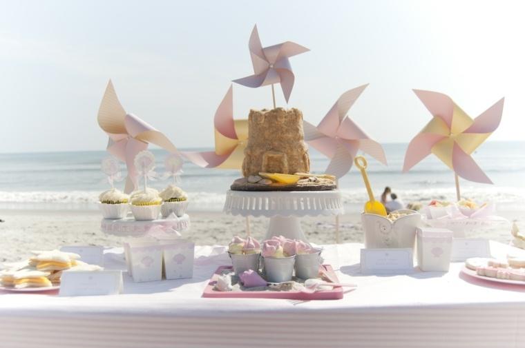 fiesta de cumpleaños decoracion mesa