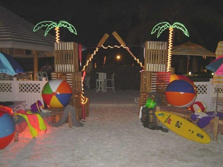 fiesta de cumpleaños infantil playa