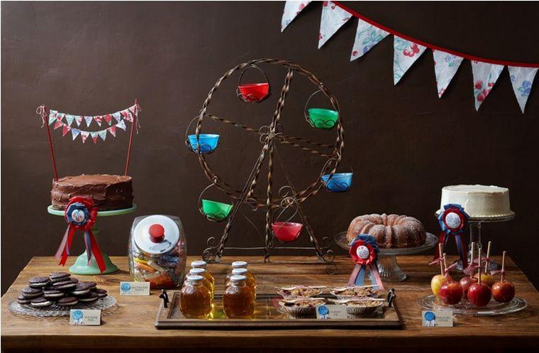 fiesta de cumpleaños inspiracion parque
