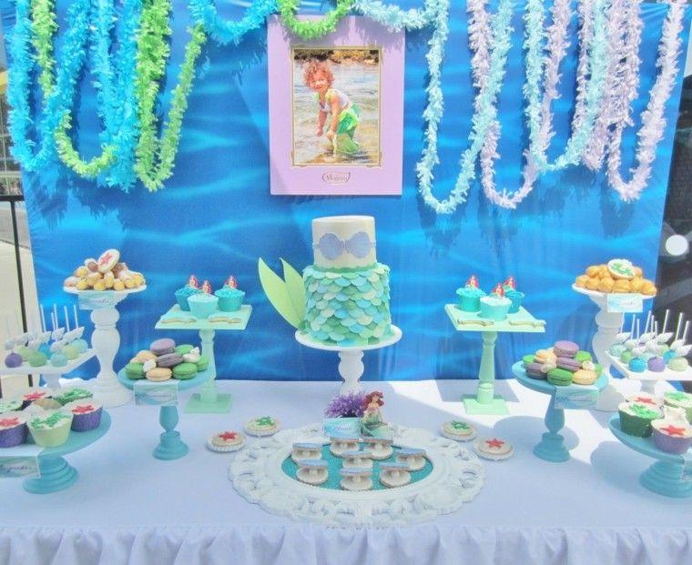 fiesta de cumpleaños inspirado mar