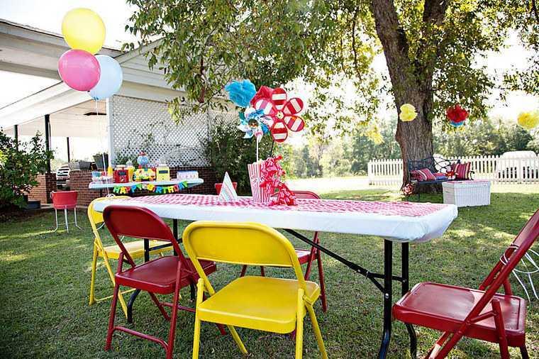 fiesta de cumpleaños jardin