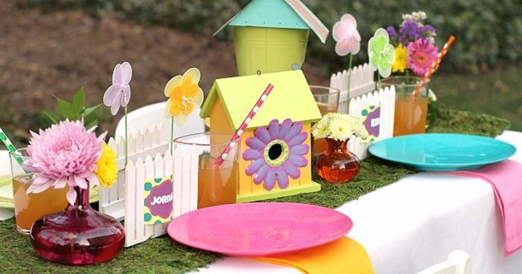 fiesta de cumpleaños niños jardin