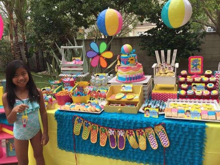 fiesta de cumpleaños para verano
