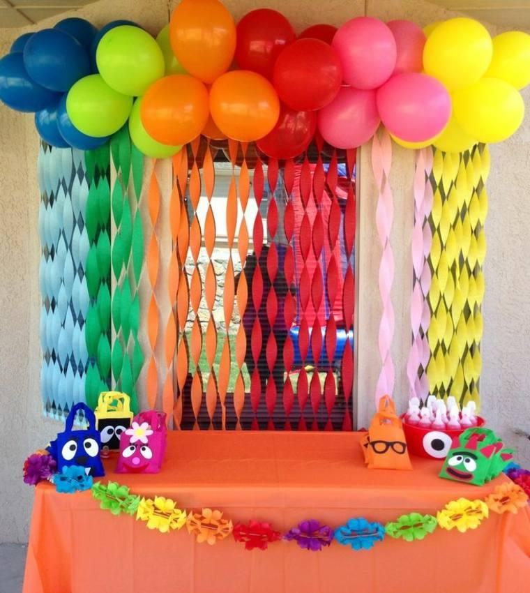 fiesta de cumpleaños simple