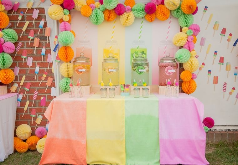 fiesta de cumpleaños tema frutas