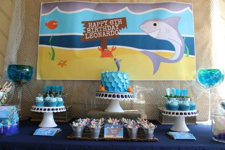 de cumpleaños tiburon
