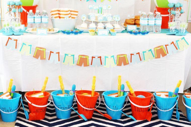 fiesta de cumpleaños tobos de playa