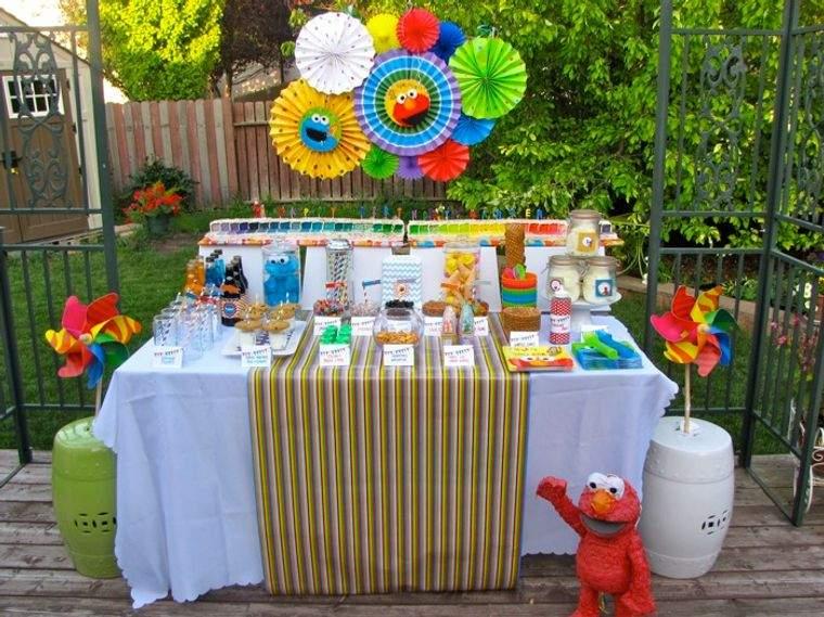 fiesta de cumpleaños verano muppets