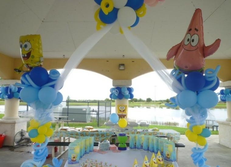 fiesta de cumpleaños verano tema
