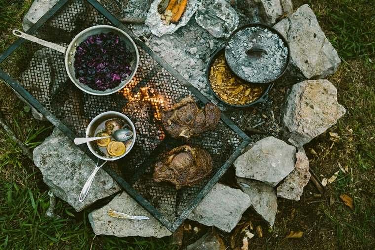 Vajilla - Equipo de comida de campo