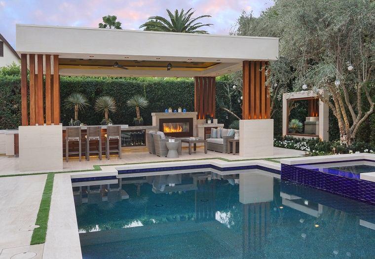 jardin-piscina-cocina-ideas