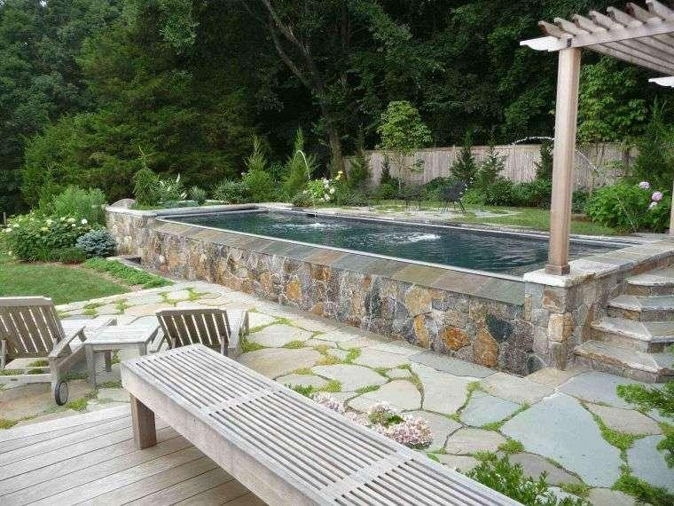 rustic-garden-pool-pergola