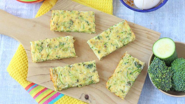 picnic dedos brocoli queso