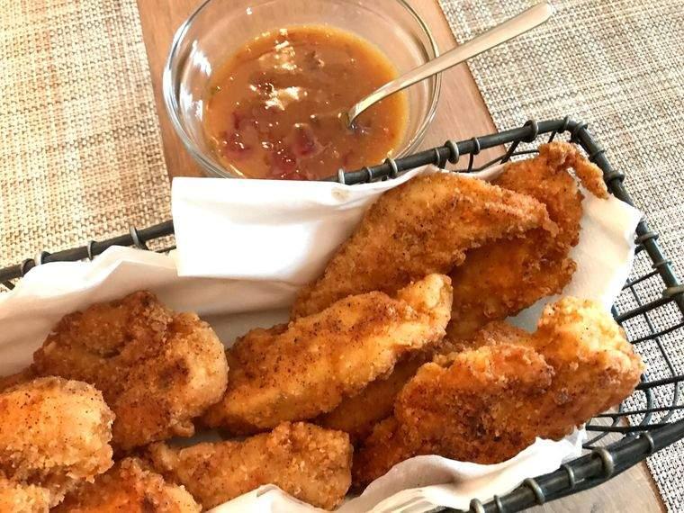 picnic dedos pollo crugiente