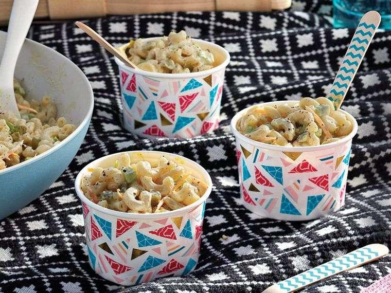 picnic macarrones