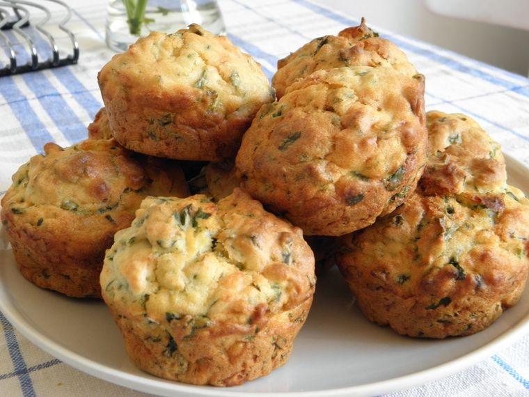 picnic muffins brocoli queso