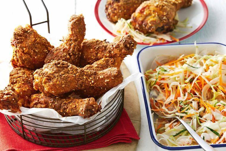 picnic pollo ensalada