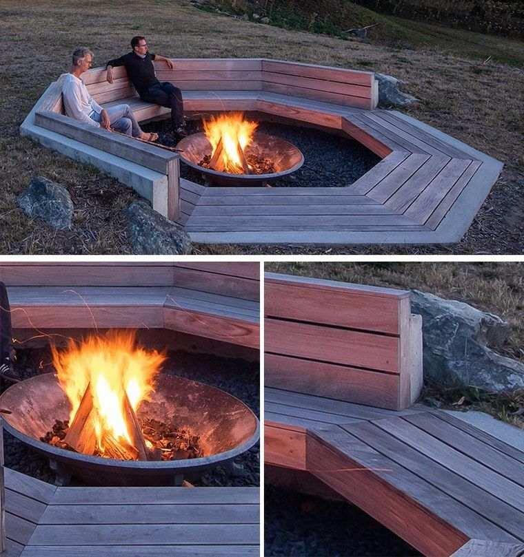 pozo de fuego diseño