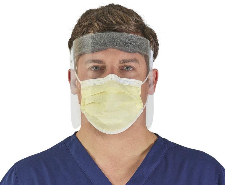 protector facial aislamiento