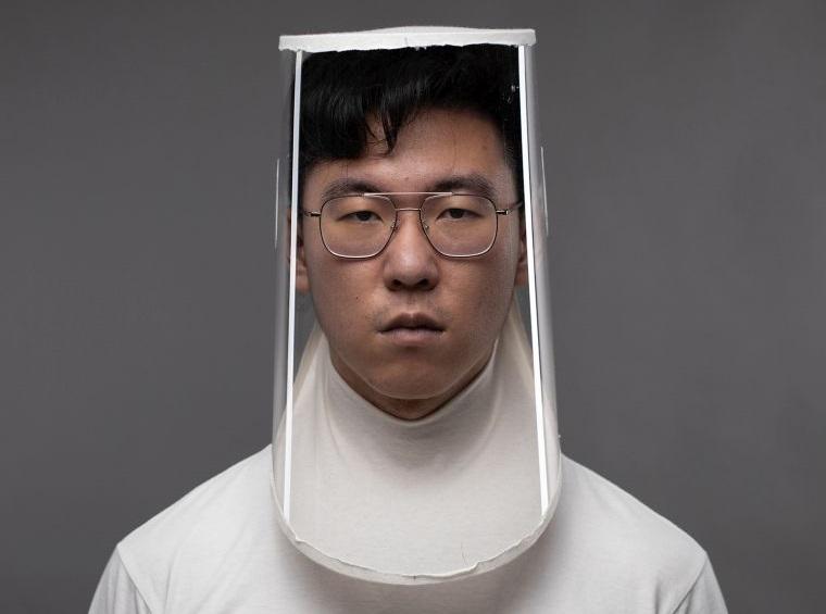 protector facial nuevo