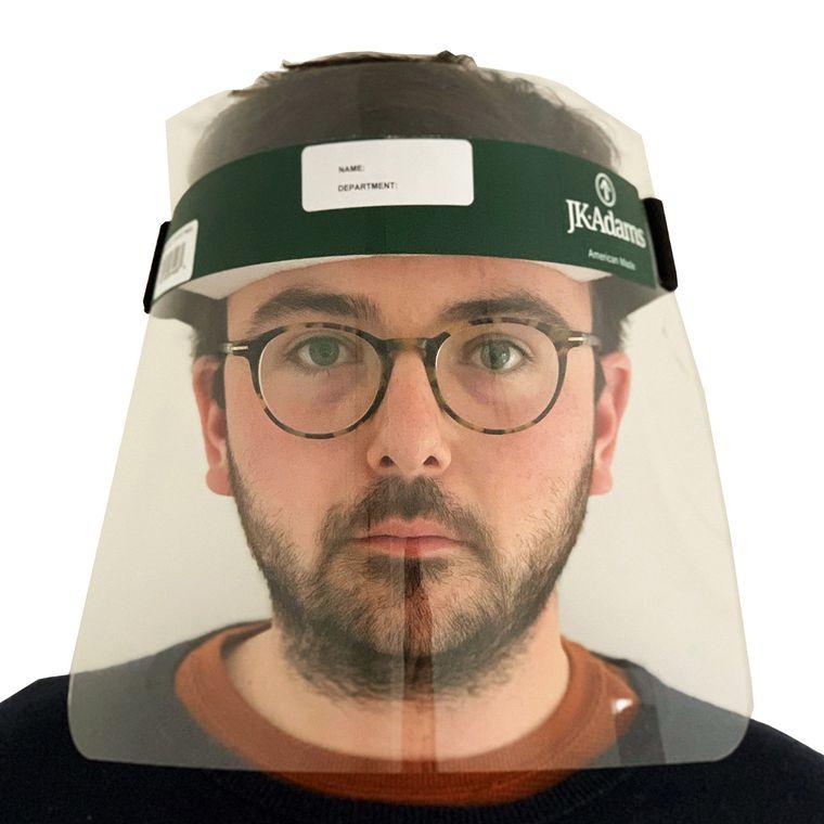 protector facial pantalla