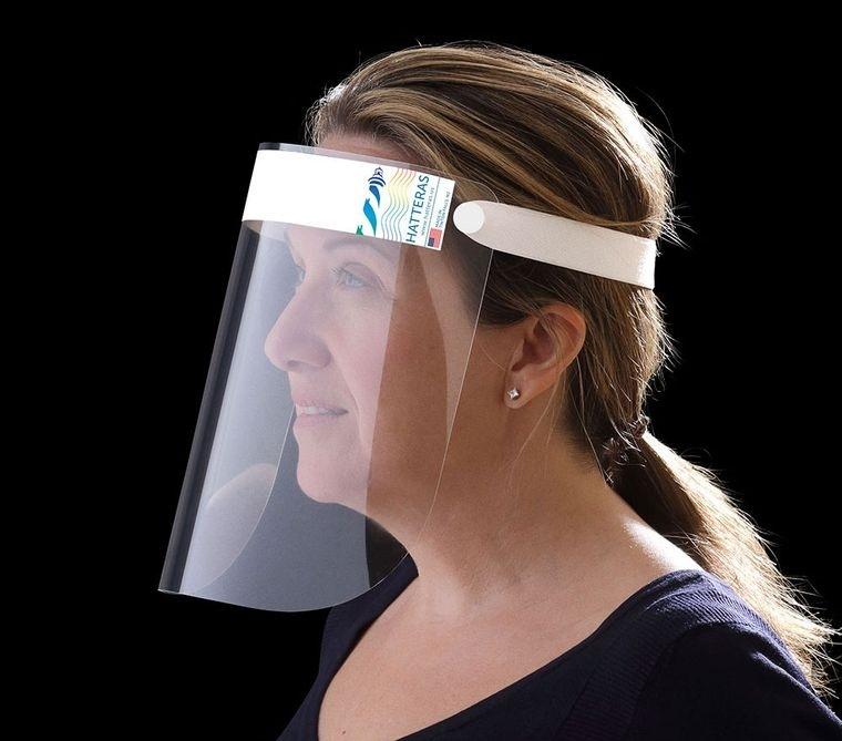 protector facial plastico