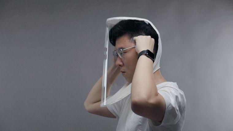protector facial practico