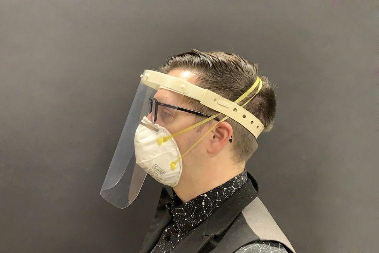 protector facial uso