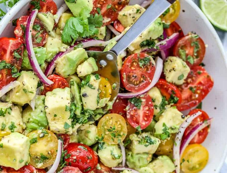 recetas con aguacate-ensalada-ideas