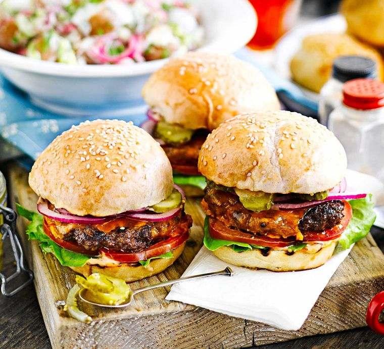 recetas ricas hamburguesas