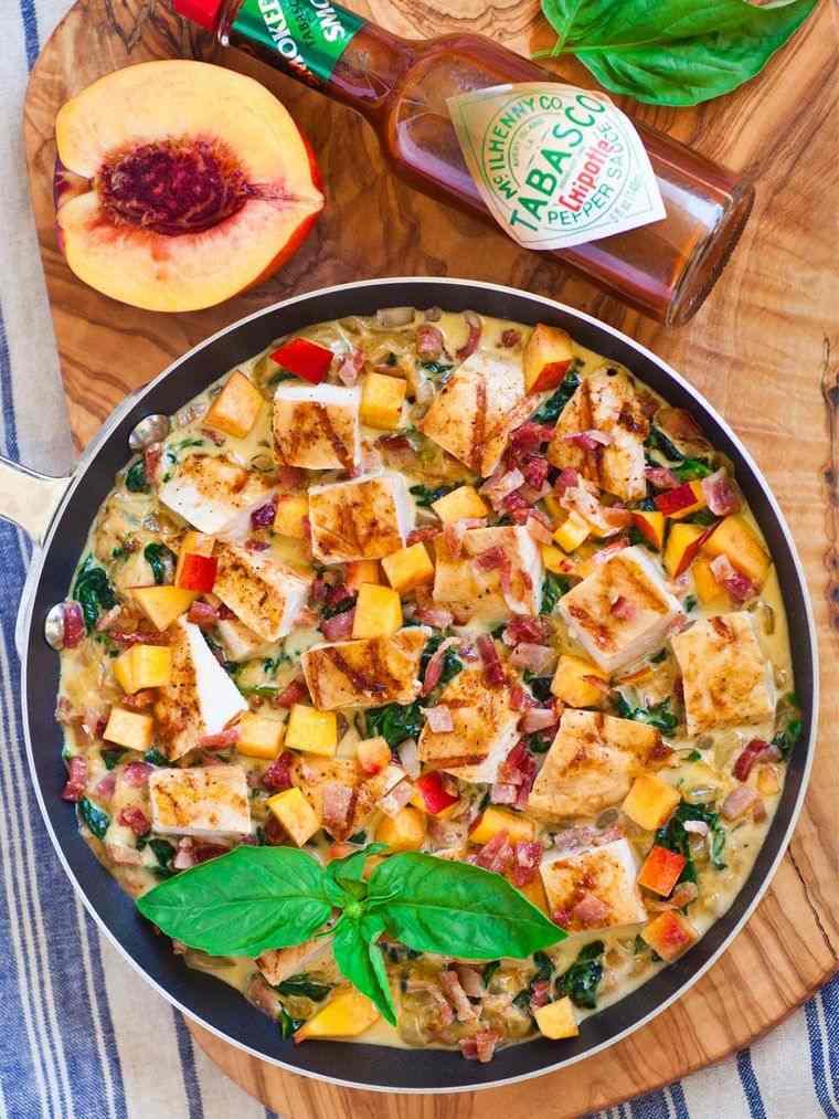 recetas ricas pollo nectarina