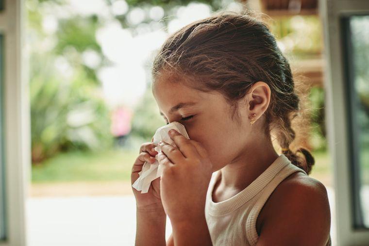 rinitis alérgica en casa