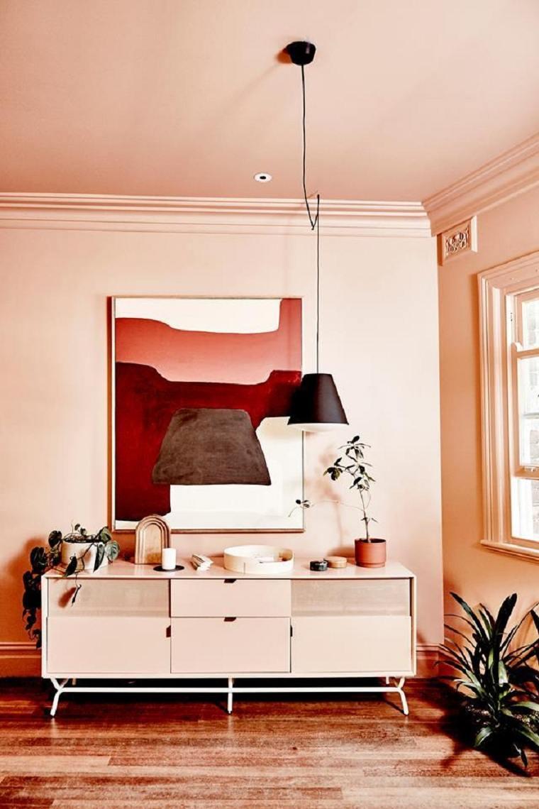 Tendencias de diseño -rosa-milenario