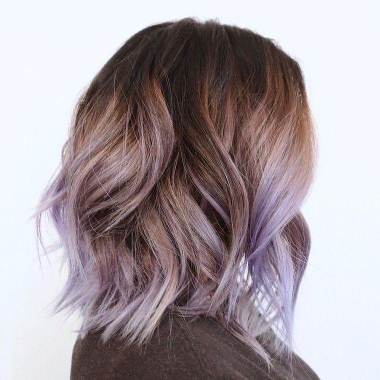 tipos de peinados bob color