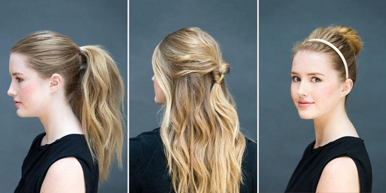 tipos de peinados estilos