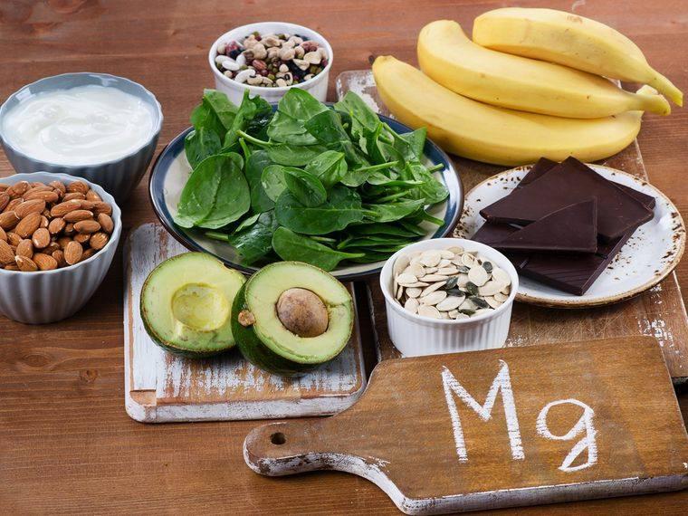 vitaminas y minerales alimentos magnesio
