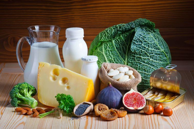 vitaminas y minerales calcio