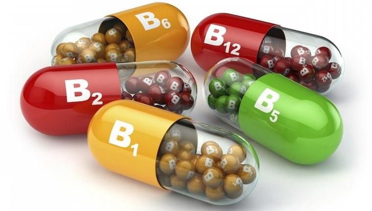 vitaminas y minerales complemento B